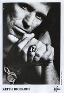 Keith Richards Promo Print