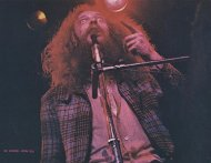 Ian Anderson (Jethro Tull) Vintage Print