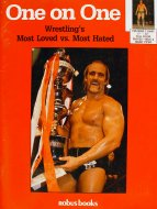 One On One, Wrestling's Most Loved vs. Most Hated Book