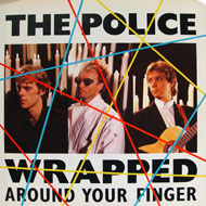 "Wrapped Around Your Finger Vinyl 7"" (Used)"
