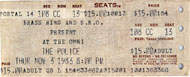 The Police Vintage Ticket