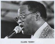 Clark Terry Promo Print