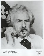 Mark Twain Tonight Promo Print