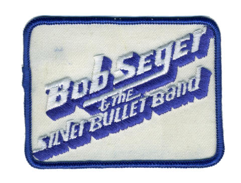 Bob Seger and The Silver Bullet Band Patch
