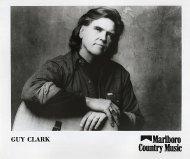 Guy Clark Promo Print