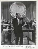 Lionel Hampton Promo Print