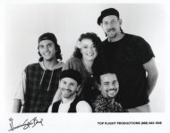 The Hawaiian Style Band Promo Print