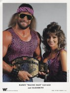 "Randy ""Macho Man"" Savage and Elizabeth Promo Print"