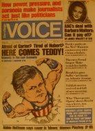 The Village Voice Vol. 21 No. 18 Magazine
