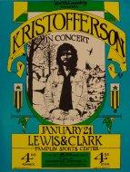 Kris Kristofferson Handbill