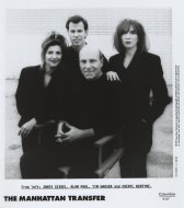 The Manhattan Transfer Promo Print
