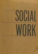 Journal of the National Association of Social Workers Book