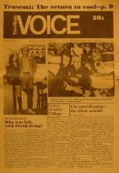 The Village Voice Vol. XVI No. 23 Magazine