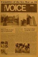 The Village Voice Vol. XVII No. 14 Magazine