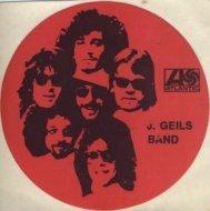 J. Geils Band Sticker