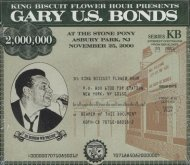 "Gary ""U.S."" Bonds CD"
