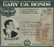 "Gary ""U.S."" Bonds CD"