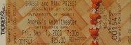 Shaggy Vintage Ticket