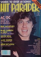 Hit Parader No. 208 Magazine