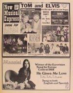 New Musical Express No. 1110 Magazine