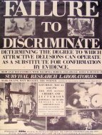 Failure To Discriminate Poster
