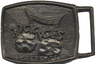 Rock Ages Belt Buckle