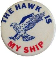 The Hawk Is My Ship Pin