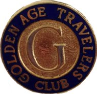 Golden Age Travelers Club Pin