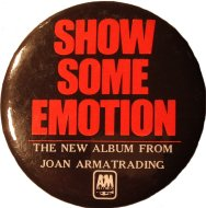 Joan Armatrading Pin