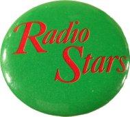 Radio Stars Pin