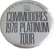 The Commodores Pin