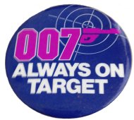 007 Always On Target Pin