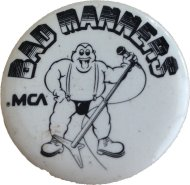 Bad Manners Pin