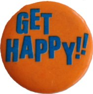 Get Happy Pin