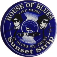 House Of Blues Pin