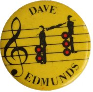 Dave Edmunds Pin