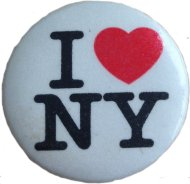 I Love NY Pin
