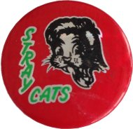 Stray Cats Pin