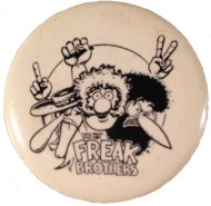 The Freak Brothers Pin