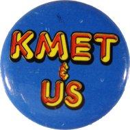 KMET & Us Pin