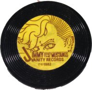 Jimmy and the Mustangs Pin