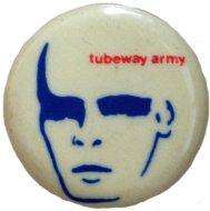 Tubeway Army Pin