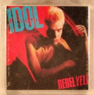 Billy Idol Keychain