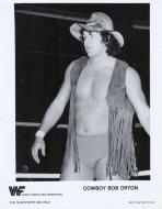 Cowboy Bob Orton Promo Print