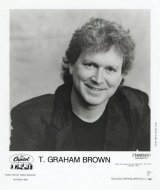 T. Graham Brown Promo Print