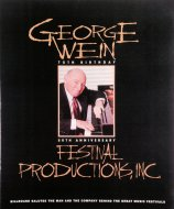 George Wein 75th Birthday Magazine