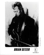 Brian Setzer Promo Print