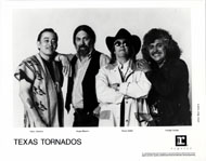 Texas Tornados Promo Print