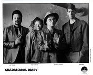 Guadalcanal Diary Promo Print