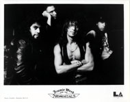 Jimmie Wood and the Immortals Promo Print